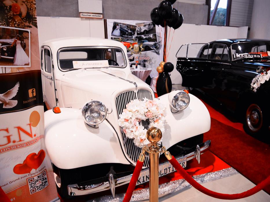 Oldtimer auf der Hochzeitsmesse